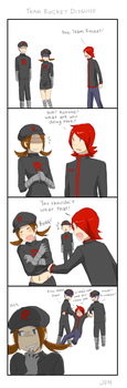 Team Rocket Disguise by Jen-Jen-Rose