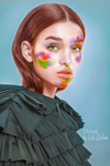 Beauty Colorization #9 by MagicalFlowerBomb