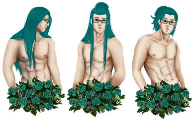 [YCH] Flower Boys ~ Nome by Qu-Ross