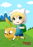 Adventure Time: Finn + Jake FanArt by Candy-Arts