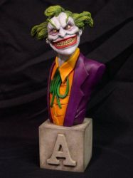 'Joker' Arkham Asylum Series by Blairsculpture