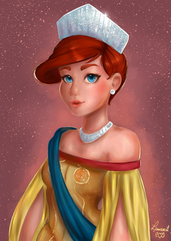 Princess Anastasia by Laurence-L