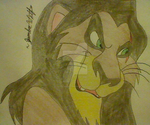 Scar- The Lion King by DecepticonOptiPrime