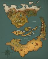 An Old Map by J-Grey