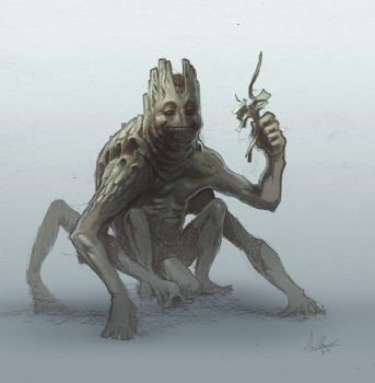 Creature Man by ProjectHybrid