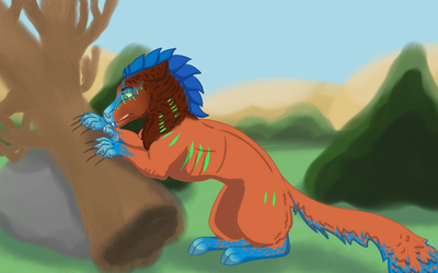 Quest - Rend - Keep Those Claws Sharp by FlyingAce1917