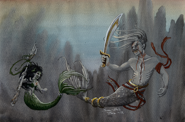 Commission Demons of the Sea by Truthdel