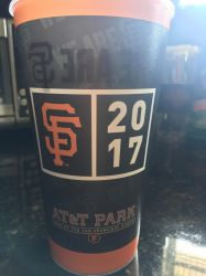 Official SF Giants opening day week cup side 1!! by sfgiants58