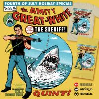 The Amity Great White by ninjaink
