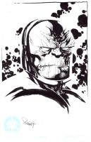 Darkseid...  Wake up and Draw by TomRaney