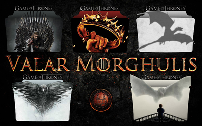 Game of Thrones Folder Icons by Drac-69