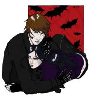 Leon and Olivia :Color: by LuscyArt