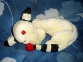 Sleeping Ampharos Commission