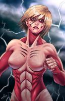 FEMALE TITAN by migue03