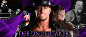 WRESTLING BANNERS: 27. The Undertaker by CreamCrazy