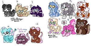 Cheap Floofy adopts - Open by Tigerblade14