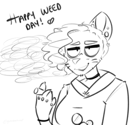 happy weed days, u stoners by comunagrave