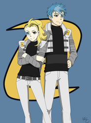 Galactic Max and Alex by Poefish