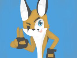 Catril the Caracal (remastered) by femexstudios