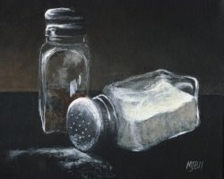 Salt N Peppa by mbeckett