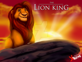 The Lion King - King Mufasa by Diego32Tiger