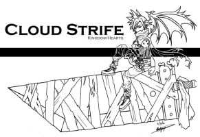 Cloud Strife by Loucife