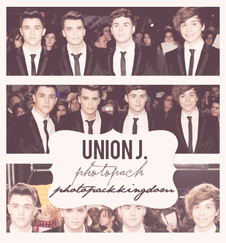 Photopack #29: Union J. by photopackkingdom