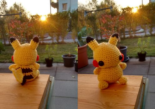 Pikachu Amigurumi by holy-turtle