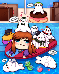 seal pool party by spowod
