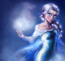 Frozen Elsa by KuroRime