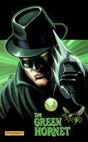 The Green Hornet Card by JacksonHerbert