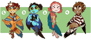 Birbo Adopts [closed] by pw-adopts