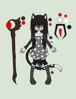 .:Kyamo Kyora The Cat Witch Reference:. by xXAriaKnightXx