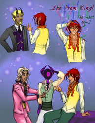 OCP 2015: Prom Pals by ObsidianPyre