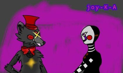 lefty and marionette by joy K A by joy-K-A