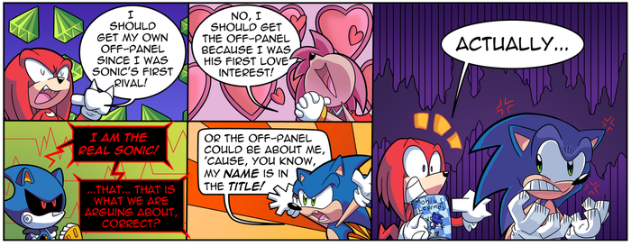 Off Panel #2 - Don't tell him the actual name by FritzyBeat