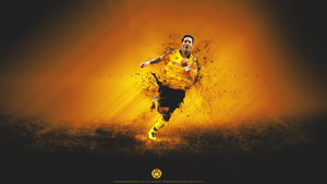 Lucas Barrios Wallpaper by SimonT95