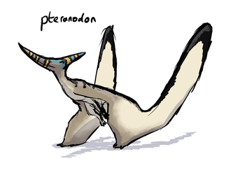 Pteranodon by ask-Louke-the-statue