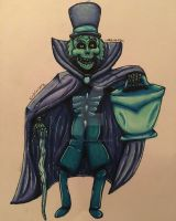 The hatbox ghost by xxmidnight12xx