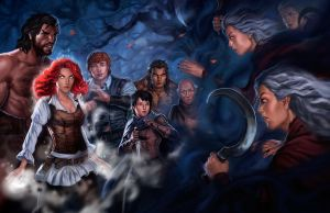 feast of fates: furies by dleoblack