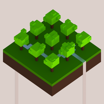 Isometric Trees by Cubicay