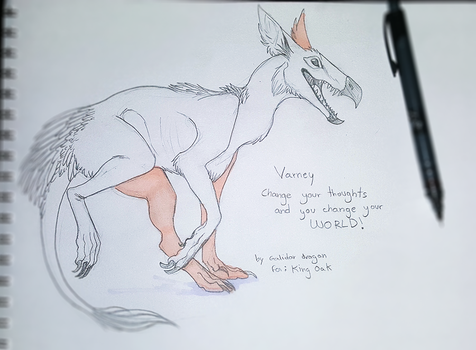 Free Sketch - VARNEY by Galidor-Dragon