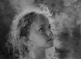 portrait - little girl by zephyr0713