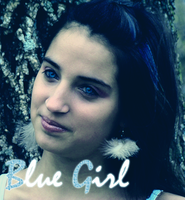 Blue Girl. by Cheve-X