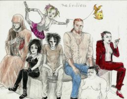 The Endless get together by MYthology1