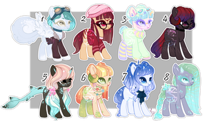 Pony cheap auction 2 - SB 0.50$ or 50 p - [Closed] by xaineko