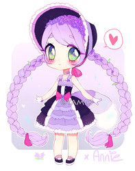 Lavendel Raccoon Annie [AUCTION] CLOSED by Yamio