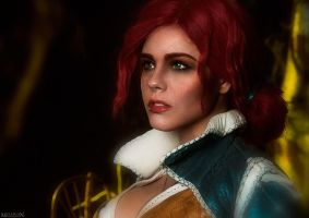 Triss - the Witcher by fenixfatalist