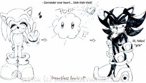 A Sonic Heartless XD by Darkeur