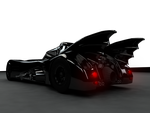 BATMOBILE REAR by Shamar-Benoit